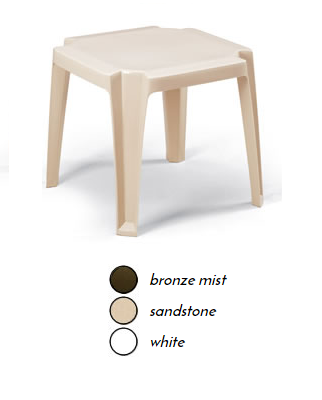 MIAMI 17 x 17 Low Table