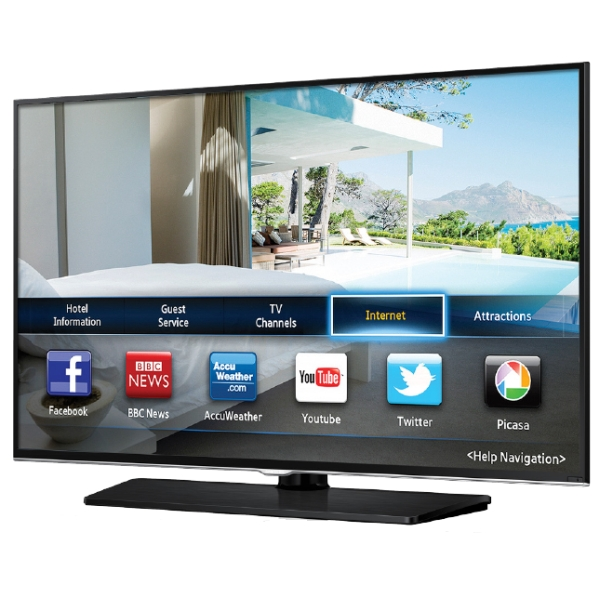 Interactive tv smart tv for hotel provhotel caribbean for Mirror for samsung tv license key